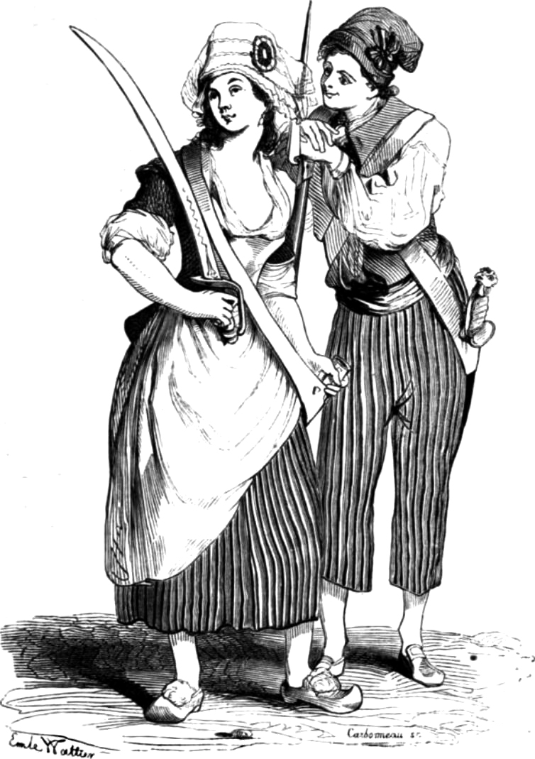 Women of the French Revolution Sans-culottes