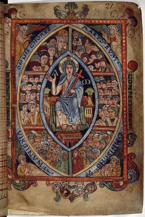 The Athelstan Psalter (London, British Library, MS Cotton Galba A XVIII, f. 21r). - See more at: http://britishlibrary.typepad.co.uk/digitisedmanuscripts/2013/08/king-athelstans-books.html#sthash.3WOXHvxX.dpuf