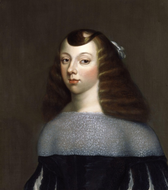 Luisa's daughter Catherine of Braganza, Queen of England
