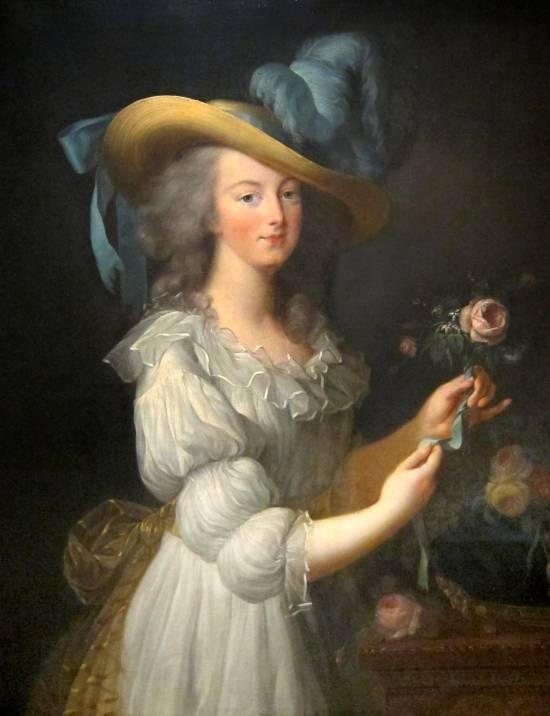 """Portrait of Queen Marie Antoinette """"en gaulle"""", 1783"""