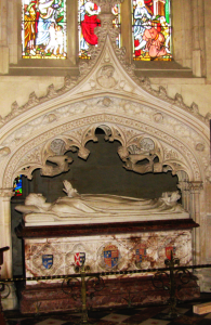 The Tomb of Queen Katherine Parr at St. Mary's Chapel, Sudeley Castle (Image by TudorQueen6, Wikimedia Commons)