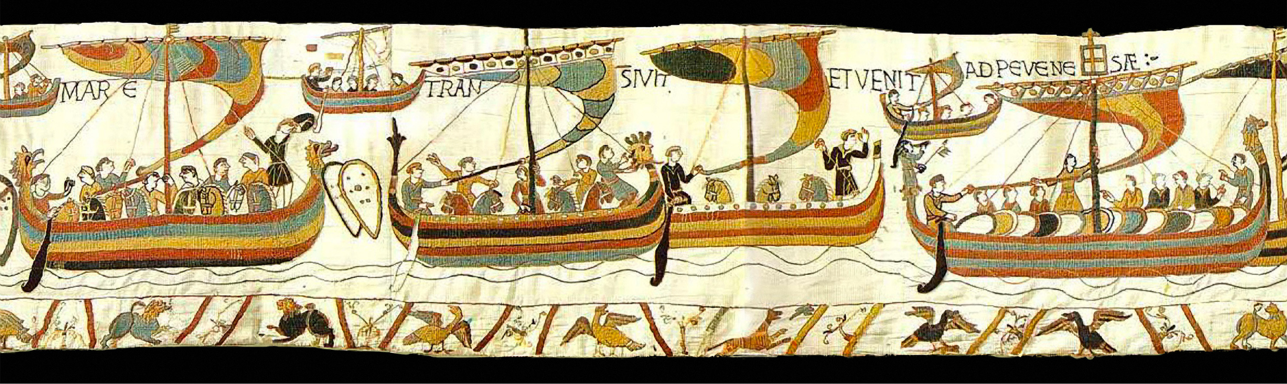 an introduction to the significance of the bayeux tapestry The bayeux tapestry is actually an embroidered wall hanging that illustrates  events  bayeux tapestry where it is depicted as a heavenly sanctioned and  just result of  overview this 10-minute question asked students to identify the  bayeux  students were asked to question the function and purpose of the work  of art,.
