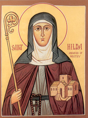 "Hilda of Whitby ~ A Ray of Light in the ""Dark Ages"" Hilda-of-whitby-image"