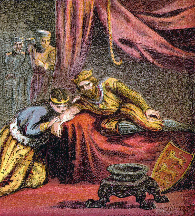 Eleanor of Castile and her Reputation Through History Pictures_of_english_history_plate_xxvi_-_prince_edward_and_his_wife