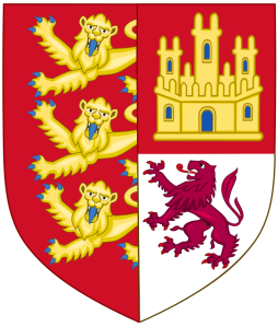 Arms of Eleanor of Castile (Author Heralder Elements of Sodacan from Wikimedia Commons)