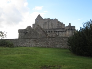 Ruins of Craigmillar Castle (Photo by the author)