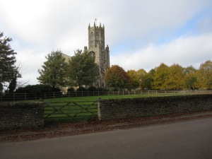 St Mary the Virgin and All Saints Church in Fotheringhay, Northampton, England (Photo by the author)