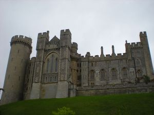 Arundel Castle, Adeliza's home with her second husband (Photo by Janna 7777 from Wikimedia Commons)