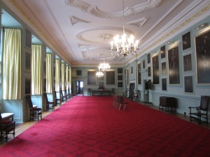 The Great Gallery of the Royal Palace of Holyrood House.  (Photo by the author)
