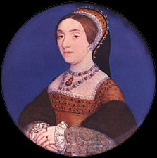 Miniature of Catherine Howard by Hans Holbein the Younger