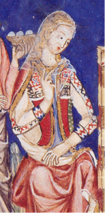 13th century woman from the