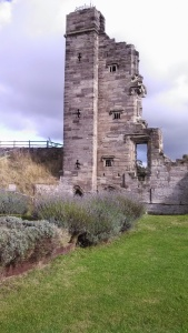 The North Tower of Tutbury Castle (Photo by the author)