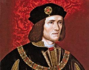 16th C. portrait of King Richard III, National Portrait Gallery, London
