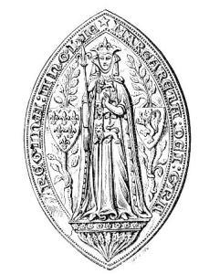 Seal of Margaret of France