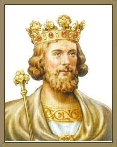 Depiction of King Edward II of England