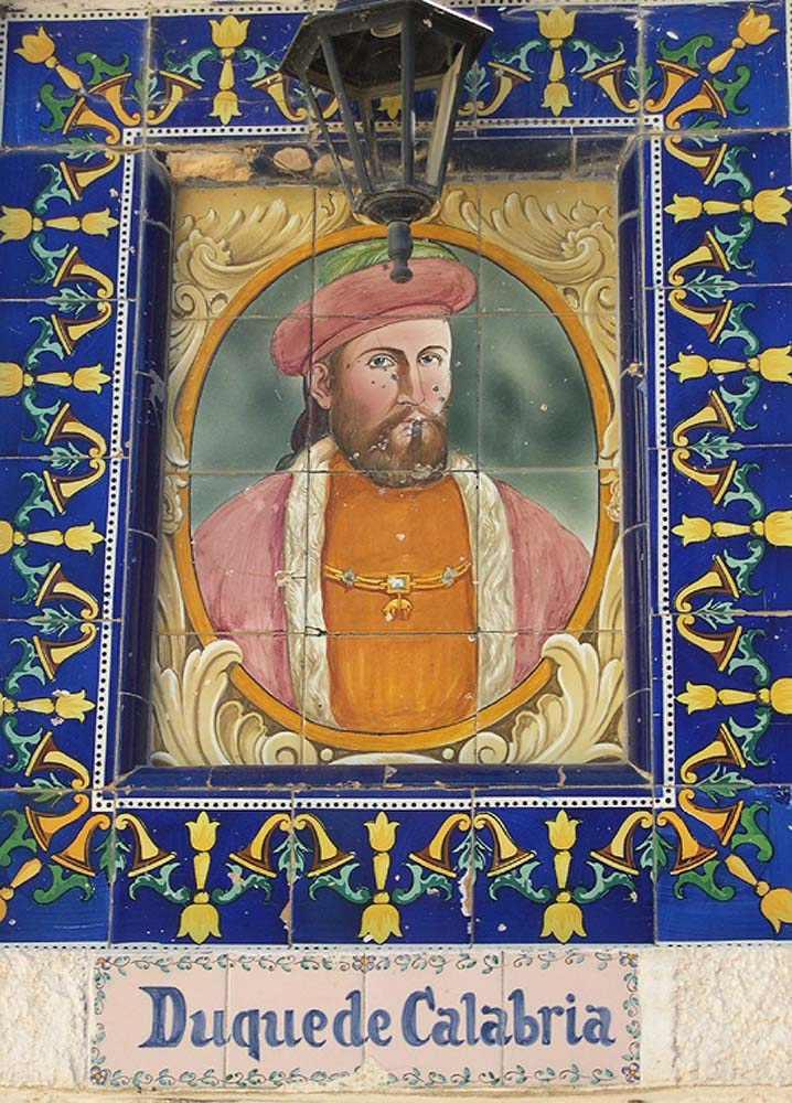 Depiction of Ferdinand of Aragón, Duke of Calabria, Germaine's third husband