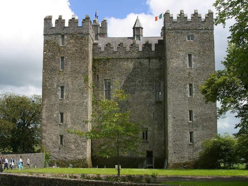 Bunratty Castle in Co. Clare, Ireland
