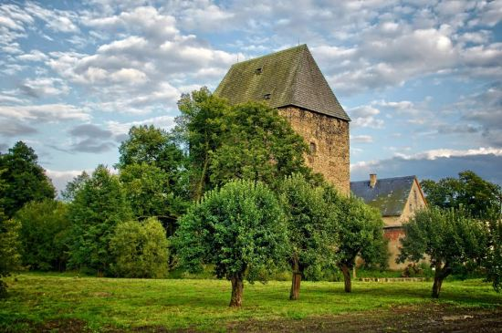 ​Ducal tower at Siedlęcin, the Lower Silesia, Poland. Photo courtesy of Elżbieta Bojczuk