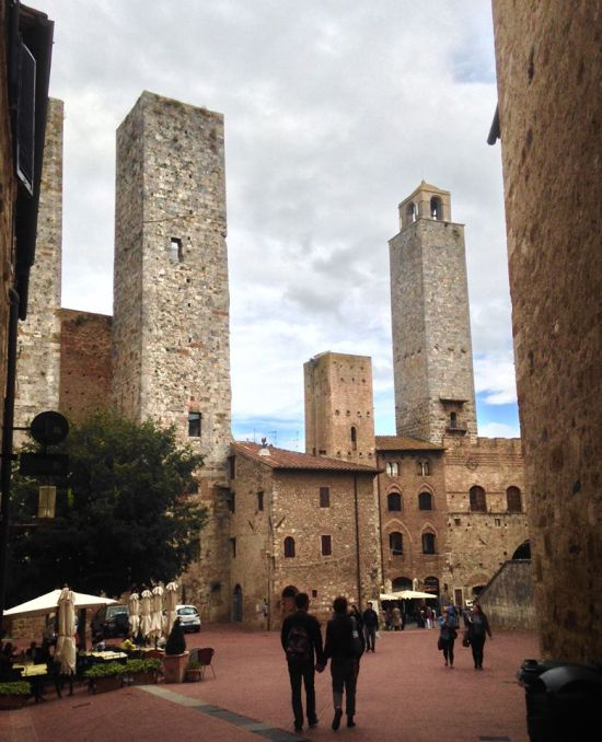 ​The towers of San Gimignano, Tuscany. Photo Courtesy of Katarzyna Zygmunt