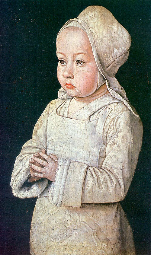 Suzanne of Bourbon as a child