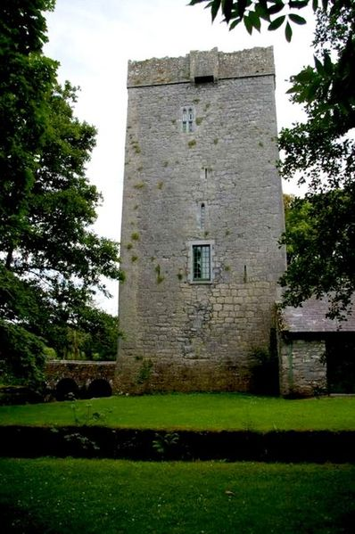 Thoor Ballylee Tower House in Co. Galway, Ireland.  Photo from geograph.org.uk by James Yardley