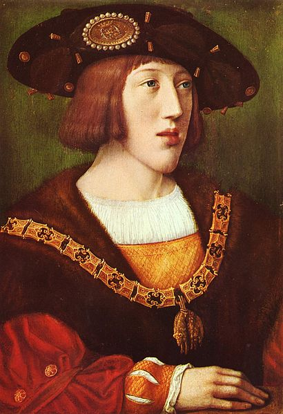 A 1516 portrait of King Charles I of Castile and Aragon, later Holy Roman Emperor Charles V, by Bernard van Orley