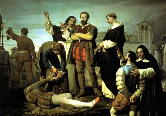Execution of the Comuneros of Castile, by Antonio Gisbert (1860)