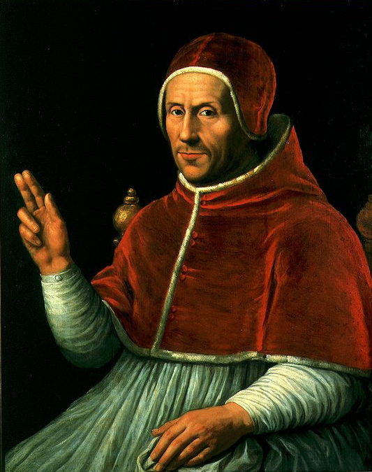Adrian of Utrecht as Pope Adrian VI by Jan van Sorel, c. 1523