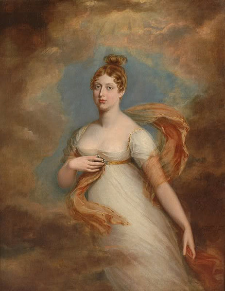 The Personality of Princess Charlotte Augusta of Wales Princess_charlotte_by_dawe
