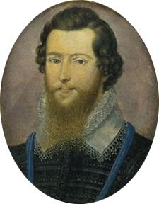 Robert Devereux, 2nd Earl of Essex by Isaac Oliver, c. 1597