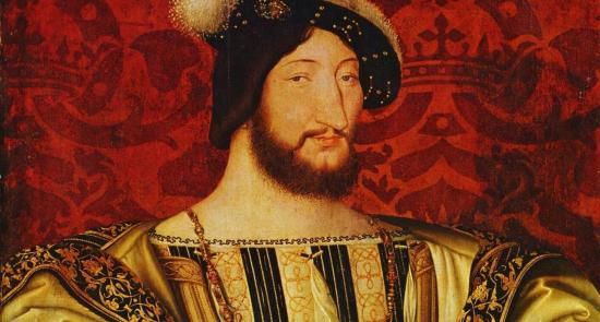King François I of France by Jean Clouet