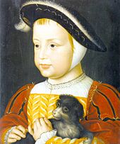 Henri, duc d'Orléans as a child.  He was the future King Henri II of France.