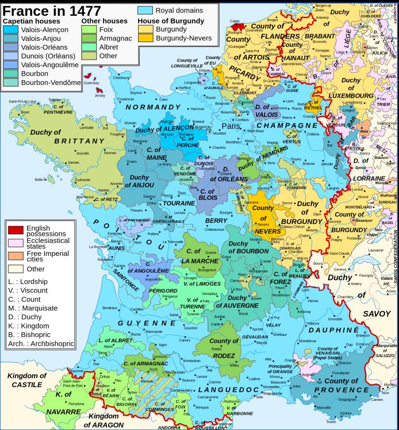 France in 1477