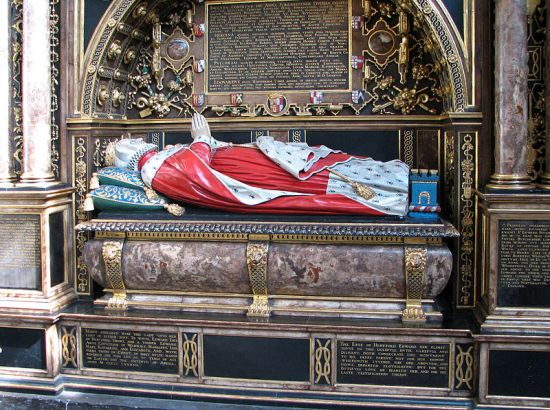 Anne Seymour's tomb in Westminster Abbey (Image by Bernard Gagnon from Wikimedia Commons)