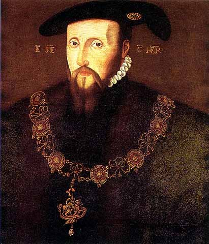 Portrait of Anne's first husband, Edward Seymour, Duke of Somerset