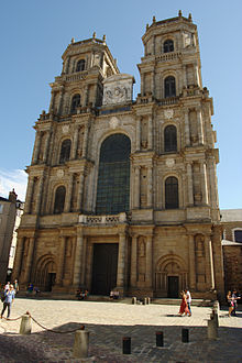 Rennes Cathedral where Francis was crowned Duke of Brittany