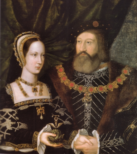 Charles Brandon and Mary Tudor (Day 5)