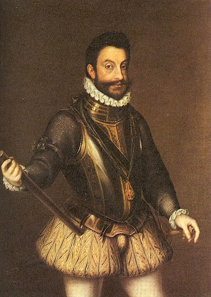 Marguerite's husband, Emmanual Philibert, Duke of Savoy, Prince of Piedmont