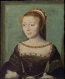 Anne de Pisseleu d'Heilly, Duchess D'Etampes, mistress of King Francis I