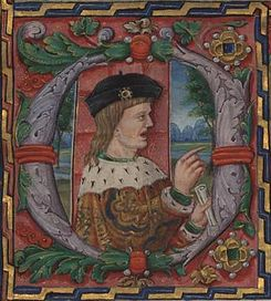 Eleanor's first husband, King Manuel I of Portugal