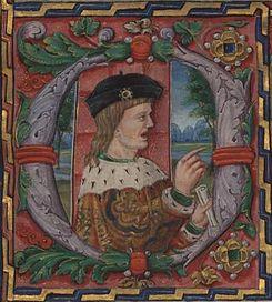 Eleanor's first husband, King Manuel I of Portugal