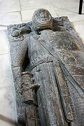 Tomb of William Marshall from the Temple Church in London