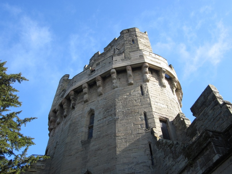 Caesar's Tower, Warwick Castle (Photo copyright of The Freelance History Writer)