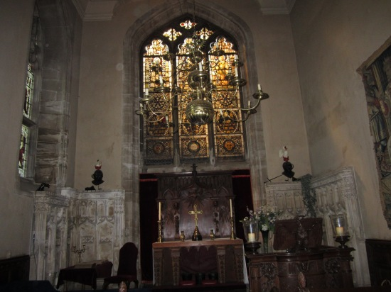 Chapel of Warwick Castle (Photo copyright of The Freelance History Writer)
