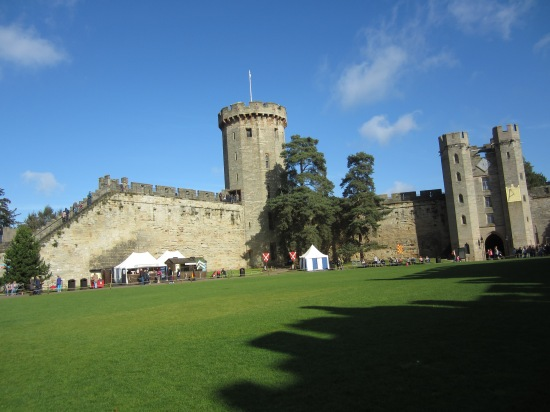 Warwick Castle (Photo copyright of The Freelance History Writer)