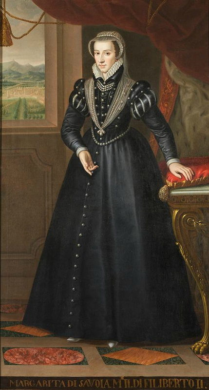 Marguerite as Duchess of Savoy