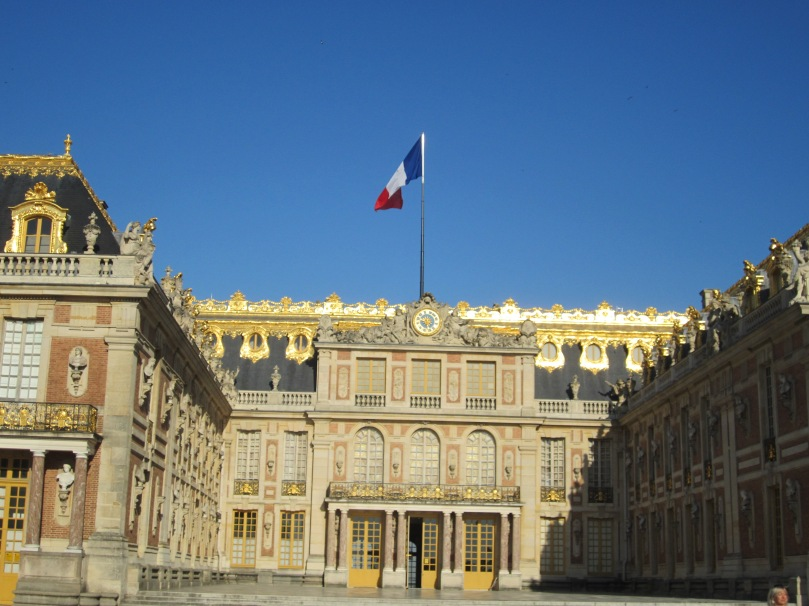 Château of Versailles (Photo copyright of The Freelance History Writer)