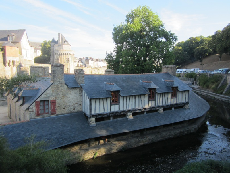 Communal laundry on the river in Vannes (Photo copyright of The Freelance History Writer)