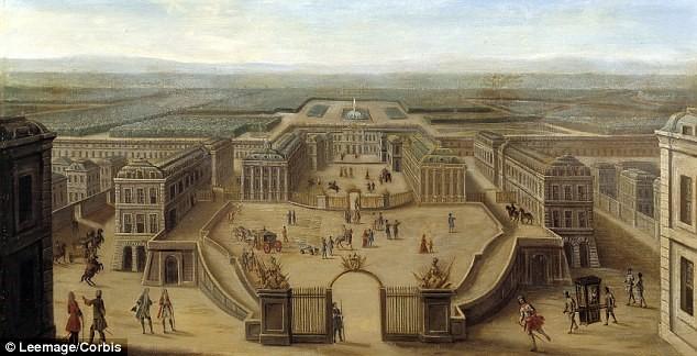The Royal Palace of Versailles, 1675