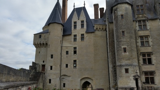 Fortress side of the Château of Langeais (Photo copyright of The Freelance History Writer)